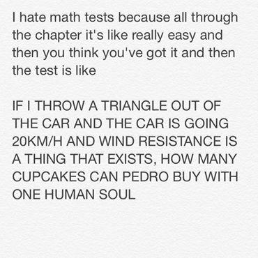 New math escalates quickly.
